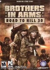 BROTHERS IN ARMS ROAD TO HILL 30 D-Day PC Game NEW in BOX - US Version