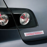 1* 3D Red Limited Edition Logo Emblem Badge Metal Sticker Decal Car Accessories