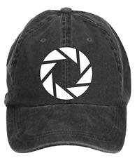 Unisex Adjustable Aperture Science Symbol Portal 2 Cotton Baseball Caps