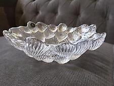 Bowl Clear Vintage Original Crystal & Cut Glass