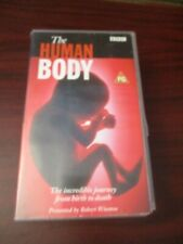 The Human Body VHS Video Tape Set