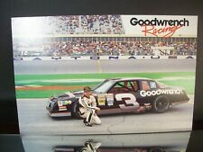 Dale Earnhardt #3 GM Goodwrench 1988 SS Aerocoupe  6X9 Hero Post Card