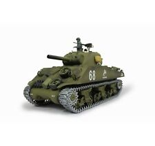 TORRO 1/16 RC tanques Sherman m4a3 bb 2.4ghz 1112438983 + cadenas de metal