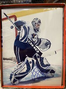 JS GIGUERE MIGHTY DUCKS OF ANAHEIM signed Autographed 11x14 photo w/COA