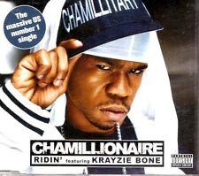 CHAMILLIONAIRE feat KRAYZIE BONE  Ridin'  2 TRACK CD  NEW - NOT SEALED