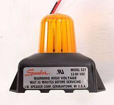 New 537 JW Speaker 12-80V Amber Strobe Light 0642271