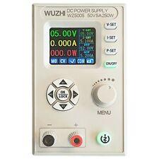 "WZ5005 Adjustable DC Power Supply 50V 5A 250W CV CC Step Down 1.8"" LCD  os12"