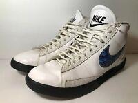 Men's Nike Blazer 555029-102 White Blue Camo Men's Shoe Size 11.5 Elephant Print