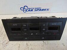 Audi A4 B7 04-08 Heater blower control fan switches dials 8E0820043BJ
