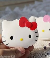Hello Kitty Head Shaped Multifunctional Mini Storage Case Pill Box KK87