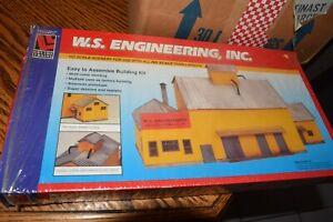 "LIFE-LIKE HO U/A ""W.S. ENGINEERING, INC."" PLASTIC MODEL KIT #1364"