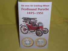 Österreich 50 ÖS Bi-Metall 2000 Ferdinand Porsche im Blister