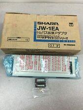 NEW IN BOX SHARP BUS EXTENSION ADAPTOR MODULE JW-1EA