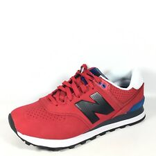 New Balance ML574ACC Mens Size 8.5 D Red/Blue Classic Running Sneakers.