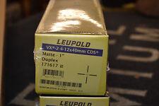 """Leupold VX-2 4-12x40mm CDS Matte 1"""" Duplex 171617"""