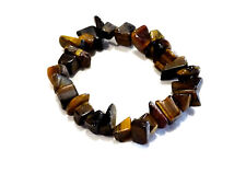 Bijou bracelet pierre oeil de tigre ships sur élastique bangle no  2