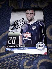 Signierte AK Koen van der Biezen DSC Arminia Bielefeld  NEU