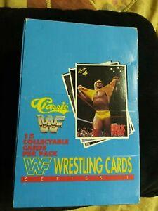 1990 Classic Wrestling Empty Box Hulk Hogan Cover