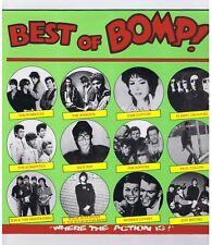 LP BEST OF BOMP IGGY POP PLIMSOULS MODERN LOVERS FLAMIN GROOVIES