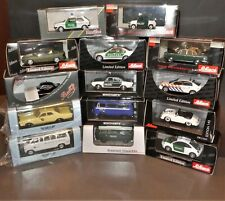 SELECTION Police cars 1/43 Scale premium brands Diecast Resin neo models matrix