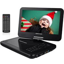 """DBPOWER 12.5"""" Portable DVD Player with 5-Hour Rechargeable Battery, 10.5""""... New"""