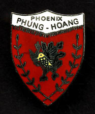Phoenix Phung Hoang enameled badge - Vietnam Counterinsurgency