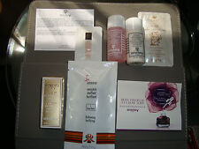 SISLEY TRAVEL SET OF 8 ITEMS WITH CASE MAKE UP REMOVER MASCARA BODY CREAM FRANCE