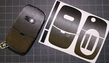 Anthrazit Schliff Folie Dekor Schlüssel Audi A A3 S3 8L A4 S4 B5 B6 A2 A6 C5 TT