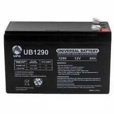 UPG 12V 9Ah SLA Battery Replacement for Tennis Tutor Junior Prolite