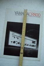 Yamaha HiFi Prospekt . Yamaha CR-800 Receiver , original Prospekt , Yamaha HiFi