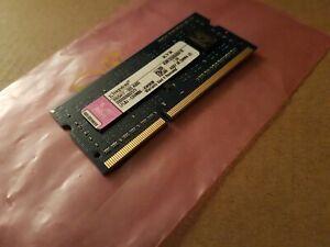 Kingston KVR1333D3S9/1G PC3-10600 DDR3 1333MHz CL9 204PIN LAPTOP MEMORY - BULK