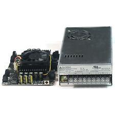 4 X 100W Class D Audio Amplifier T-AMP w Delta 24V 350W PMT Power Supply