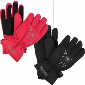 RKG040 Regatta Kids Girls Boys Arlie II Waterproof Gloves Insulated MRP £25.00