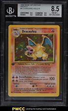 1999 Pokemon Base Set 1st Edition French Holo Charizard Dracaufeu #4 BGS 8.5