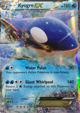 Pokemon XY Kyogre XY41 EX Holo Normal/Regular Size Promo Card