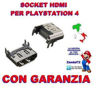 SOCKET HDMI DI RICAMBIO ORIGINALE SONY PLAYSTATION 4 PS4 PORTA CONNETTORE HDMI