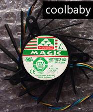 MBT7012XR-W20 Fan for Video card 8800GT 9800GT 9600GT 12V 0.28A 4pin