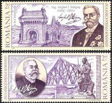 Romania 2009 A. Saligny/Bridges/Architecture/Engineering/Transport 2v set n44835