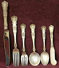 BUTTERCUP 1899 BY GORHAM STERLING SILVERWARE LION/ANCHOR/G SERVICE FOR 8 56PCS