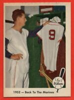 1959 Fleer #44 Ted Williams NEAR MINT+ HOF Boston Red Sox FREE SHIPPING