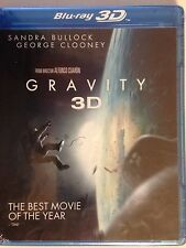 GRAVITY 3D & 2D (Blu ray/DVD/ HD Digital Copy) Sandra Bullock