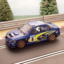 Scalextric 1:32 Car - C2118 Subaru Impreza WRC #8 Makinen *LIGHTS* #D