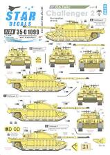 Star Decals 1/35 OPERATION TELIC CHALLENGER TANKS in the OCCUPATION OF IRAQ 2003