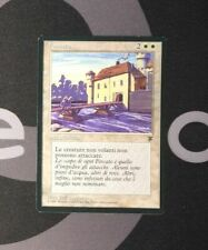 1 Italian Moat (#9803) - Legends White MtG Magic 93/94 Old School Rare 1x x1