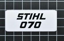 """Vinyl Sticker for Stihl/Farmertec 070 Shroud Plate """"Full Overlay"""""""