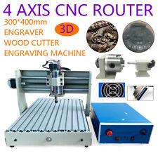 4 assi CNC 3040 router incisione macchina INCISIONI FRESATURA DIY 3D 400w