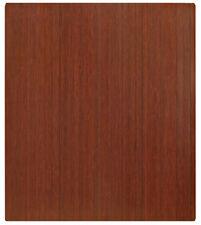 """Anji Mountain 5mm Bamboo Roll-Up Modern Cherry Chair Mat - Approx 42"""" x 48"""""""