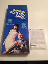 "Vintage ""Numbers Mastermind"" by Invicta 1976."