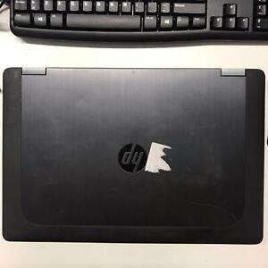 """PC NOTEBOOK PORTATILE RICONDIZIONATO HP ZBOOK 15,6"""" i7-4810MQ SSD 256GB RAM 16GB"""
