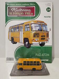 VERY RARE IXO IST PAZ 672M Kultowe Autobusy PRL-u 1:72 no.24 Russia CCCP Legends